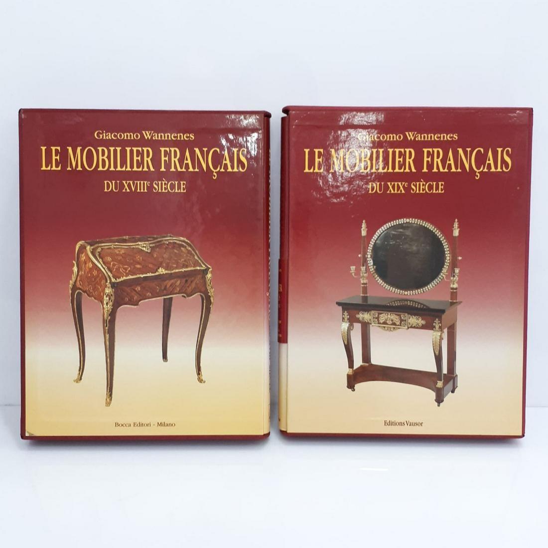 LE MOBILIER FRANCAIS DU XVIII - XIX SIECLE