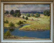 Oil painting Landscape Nevkrytyy Denys Nykyforovych