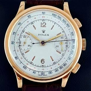 Rolex - Vintage Chronograph 2508 - Men - 1938