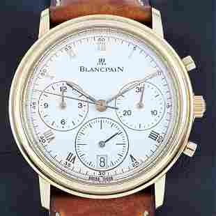 Blancpain - Villeret Chhronograph Automatic 18Kt Gold -