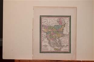 1850 Map of Turkey