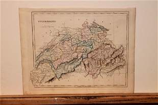 1842 Map of Switzerland