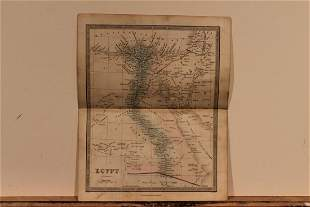 1860 Map of Egypt