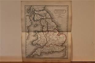 1801 Map of Britain