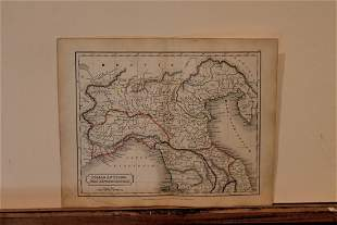 1801 Map of Italy