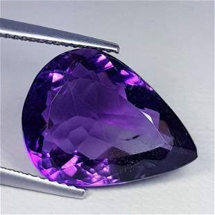 Natural Amethyst Pear Cut 10.29 ct