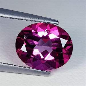 Natural Pink Topaz Oval Cut 4.28 ct