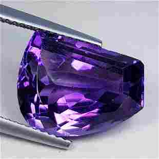 Natural Amethyst Fancy Cut 8.57 ct