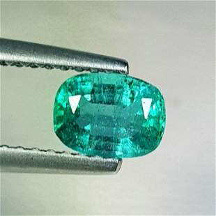 Natural Emerald Oval Cut 0.64 ct