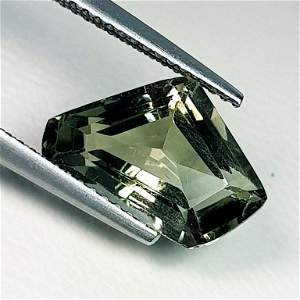 Natural Green Amethyst Fancy Cut 3.88 ct