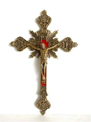 Antique Bronze cross