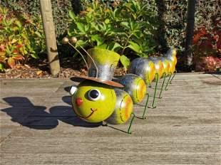 Huge caterpillar - centipede - Garden decoration -