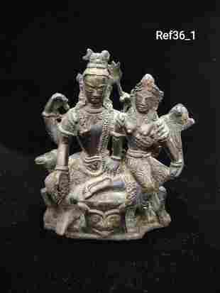 Shiva parvati idol