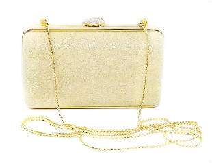 Judith Leiber Crushed Crystal Textured Cross Body