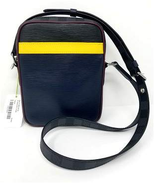 Louis Vuitton Danube 2019 Bag Damier Graphite Slim