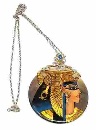 Michael Valitutti Jewelry Cleopatra Necklace Mother of