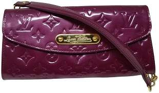 Louis Vuitton Sunset Boulevard Purple Pochette Shoulder