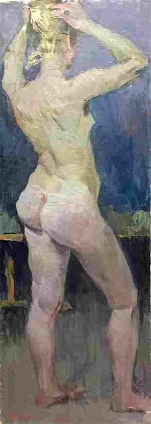 Oil painting Nude Krichevsky Gregory