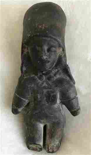 Pre-Columbian Art Female Idol, from the Estate of