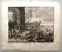 1730 Engraving Battle at Antwerp in 1583