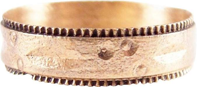 SUPERB VIKING WEDING RING 900-1050 AD SZ 7 ¼