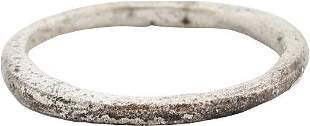 VIKING WOMAN'S WEDDING RING 850-1050 AD S 5 ½