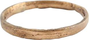 ANCIENT VIKING WEDDING RING SIZE 7 ¼