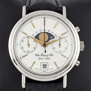 Tissot CHS Fils - 1853-1983 Moon Phase Chronograph -