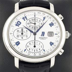 Audemars Piguet - Millenary Chronograph - Ref: 25822ST