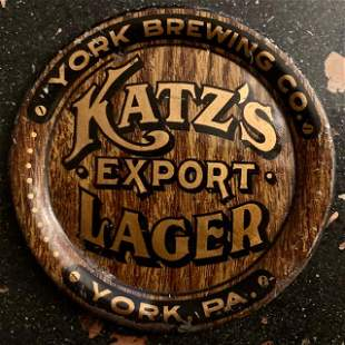 Ultra Rare Katz Export Lager Tip Tray York Pa