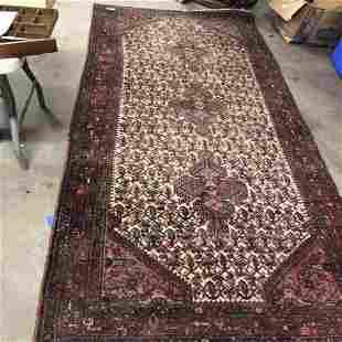 Semi Antique Hand Woven Persian Bahkteri 3.5x10