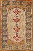 5x7 Oushak Turkish Oriental Area Rug
