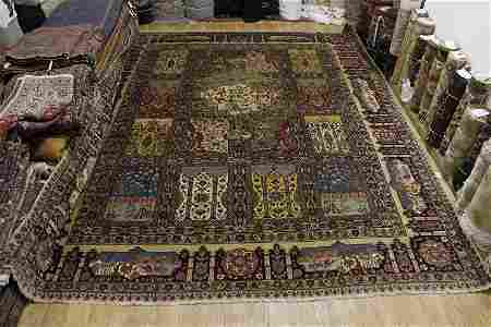 Antique Palace Sized 14x16 Tabriz Persian Area Rug