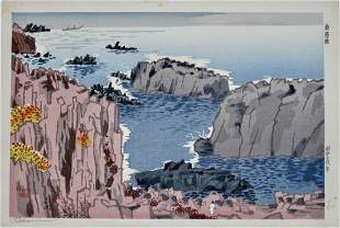 Tokuriki: Coastal Scene