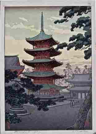 Koitsu: Nara Horiuji Temple