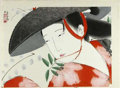Kitano TSUNETOMI: Wisteria Maiden Fujimusume
