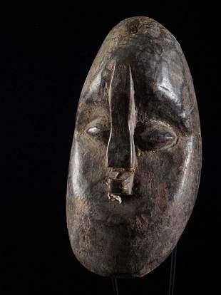 Nigerian Heavy Wood Dance mask-old patina ,Nigeria