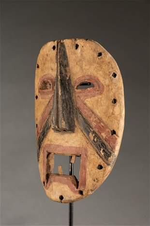 Yela polychromed Dance Mask,DRC