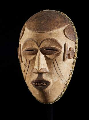 Small Face masks with Scarifications, Ibo people,