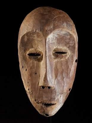 Ceremonial Face Mask, Lega people, DR Congo