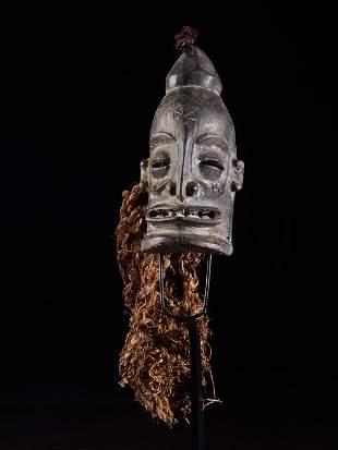 Small Face Mask, Chokwe people, Angola