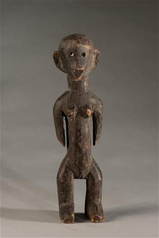 Unidentifiable African statue-Tiv features