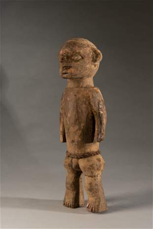 Fon fetish with nice libation patina,Benin/Nigeria