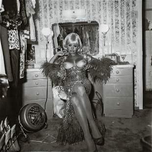 DIANE ARBUS - Carol Doda, Topless Dancer, SF 1968