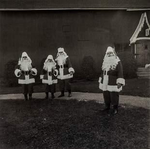 DIANE ARBUS - Santas at Santa Claus School, Albion, NY
