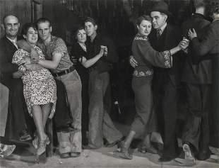 MARGARET BOURKE-WHITE - Taxi Dancers, Fort Peck, 1936