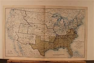 1895 Civil War Map