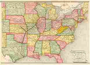 Missouri, Kansas & Texas Railway and Connections.