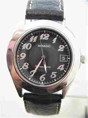 S/Steel MOVADO Kingmatic Date 37.5 mm watch Ref