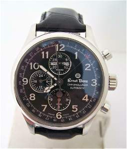 Mens S/Steel ERNST BENZ Chronolunar Chronograph